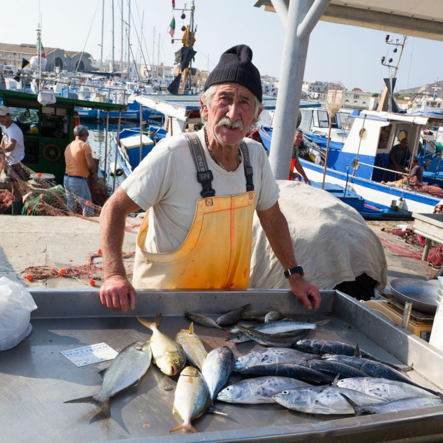 Favignana fisherman