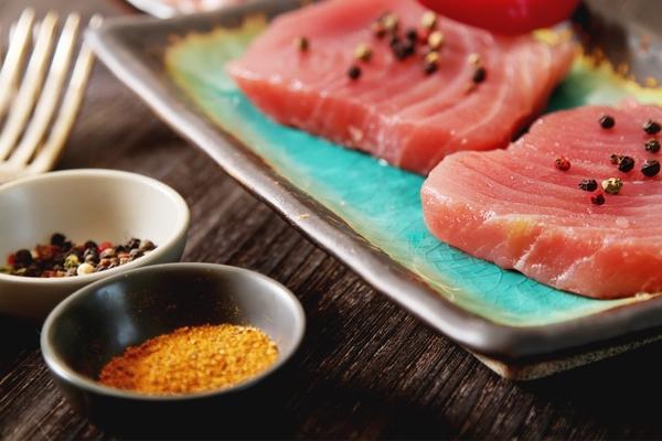 Raw tuna Favignana