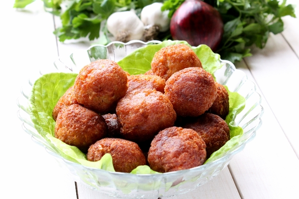 Tuna meatballs Favignana